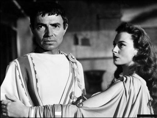Image from the 1953 film Julius Caesar.
