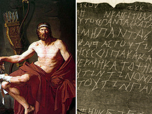 Philoctetes and Curse Tablet