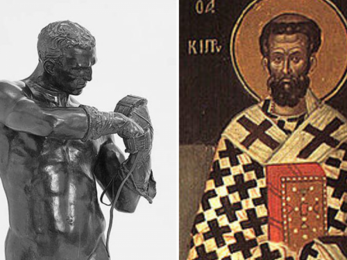 Roman Boxer and Cyprian of Carthage